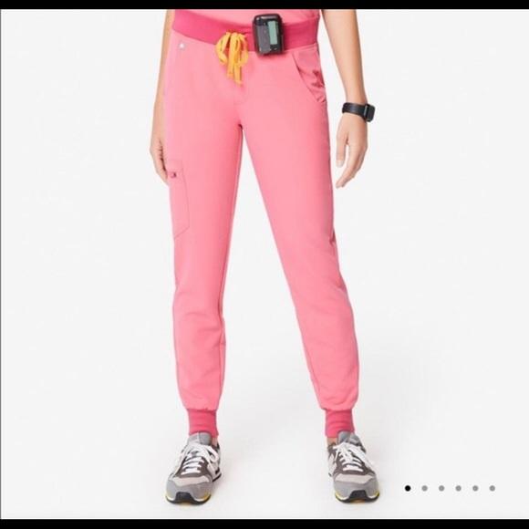 Figs neon pink limited edition scrubs XXS/XXSP